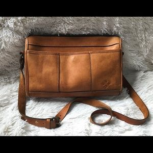 PATRICIA NASH | Quality Large Leather Crossbody